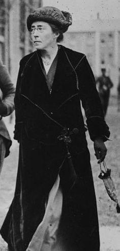 Hannah Sheehy Skeffington, 1916.