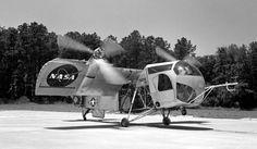 STRANGE VERTICAL TAKE OFF EXPERIMENTAL AIRCRAFT - FIRST TILT WING? - VTOL