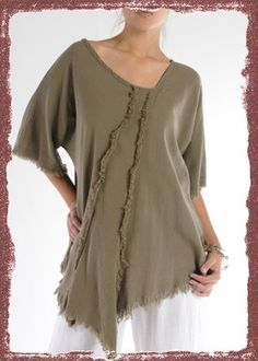 Shaggy Tunic by Oh My Gauze