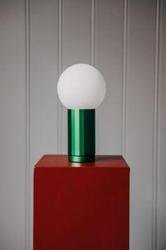 HAY | Turn On Bordslampa Green | TAMBURSTORE.SE Lighting, Green, Home Decor, Light Fixtures, Lights, Interior Design, Home Interior Design, Lightning, Home Decoration