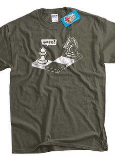 Funny Chess Geek Nerd  TShirt  Capture The Pawn by IceCreamTees, $14.99