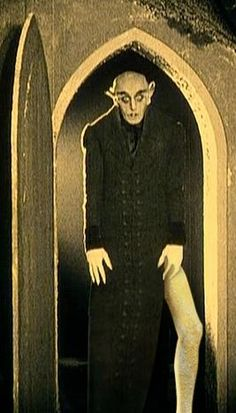 Nosferatu.  Horror. Film.