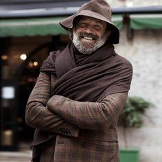 Manly shawl?