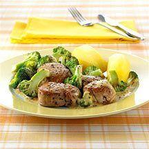 Weight watchers - Varkensfilet in fijne mosterdsaus – 10pt