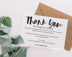 business editable purchase instant thank cards etsy you pdf INSTANT Business Thank You Cards Editable PDF Purchase Thank EtsyYou can find Packaging ideas business and more on our website Business Thank You Notes, Small Business Cards, Customer Thank You Note, Thank You Card Design, Online Shops, Macy's Online, Canada Online, India Online, Store Online