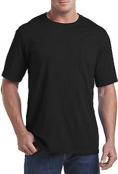 Shop a great selection of Harbor Bay DXL Big Tall Wicking Jersey Pocket T-Shirt. Find new offer and Similar products for Harbor Bay DXL Big Tall Wicking Jersey Pocket T-Shirt. Mens Big And Tall, Big & Tall, Harbor Bay, Branded Shirts, Boys Shirts, Tshirts Online, Shirt Style, Pocket, Mens Tops