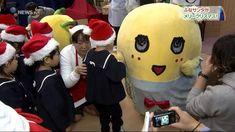 ふなサンタがメリークリスマス! ふなっしーが園児らにプレゼント /千葉県船橋市