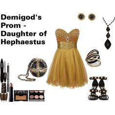 Daughter of Hephaestus by animalsc on Polyvore
