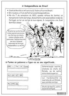 SOS PROFESSOR-ATIVIDADES: A independência do Brasil