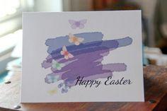 Easter Watercolor Brush Strokes