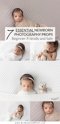 Are you wondering what props for newborn photography do you need? In this article, we share the list of essential newborn photography props. Newborn Photography Studio, Baby Girl Photography, Photography Props, Photo Props, Photo Shoot, Newborn Photo Outfits, How To Pose, Photographing Kids, Headbands