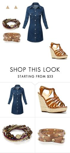"""""""Chloe + Isabel"""" by cari6289 on Polyvore featuring Alexis Harrison and Chloe + Isabel"""