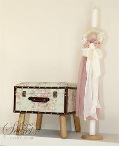 Βαπτιστικό σετ με κουτί λαμπάδα, annassecret, Χειροποιητες μπομπονιερες γαμου, Χειροποιητες μπομπονιερες βαπτισης