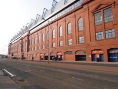 Ibrox, home of Rangers FC    http://analogueboyinadigitalworld.wordpress.com/2013/04/16/rangers-v-linfield-photo-special/