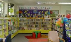 A section in libraries just for children.