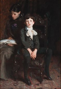 Portrait of a Boy. Artist: John Singer Sargent (American, Florence 1856–1925 London) Date: 1890 Culture: American Medium: Oil on canvas.