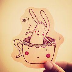 { Rotina e Rabisco }  - Bom dia!! Alguém mais precisando de café pra começar a semana?  #rotinaerabisco #segundafeira #rotinafeliz #café #ilustração