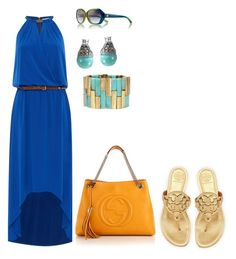 Easy and free . Great look for lunch with the girls Lunch, Feelings, Easy, Girls, Polyvore, Blue, Image, Fashion, Moda