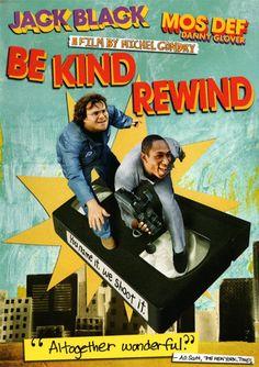 be kind rewind * Michel Gondry * soooo exciting!!!