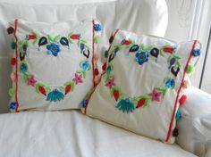 Almohadones bordados a mano - Almohadones - Casa - 493995
