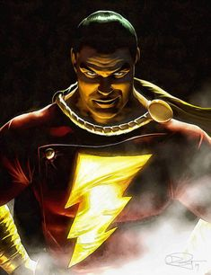 A.R.C.H.I.V.E., herochan: Captain Marvel (Shazam!) Art by Daniel Murray || DA (Source: herochan)