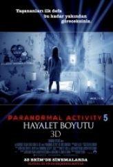 Paranormal Activity 5 : Hayalet Boyutu (2015)  izle