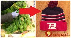 Tak toto by nám nenapadlo. Stará čapica a čečina je tou najkrajšou vianočnou dekoráciou! Winter Hats, Beanie, Christmas, Xmas, Weihnachten, Navidad, Beanies, Yule, Noel