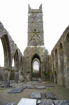 Claregalway Friary, Co. Galway, Ireland