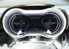 jaguar cx75 concept | Jaguar CX75 Hybrid Concept Speedometer Photo | Auto Car Fashion | New ...