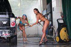 правильно мыть автомобиль