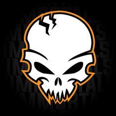 Graffiti Doodles, Graffiti Lettering, Typography Logo, Logos, Skull Logo, Skull Art, Logo Desing, Skull Pictures, Graffiti Characters