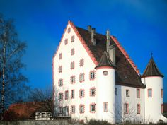Wolfsegg Castle Bavaria Germany- My stepmom is from here, she grew up in the manor house by the castle and used to play in it as a child.