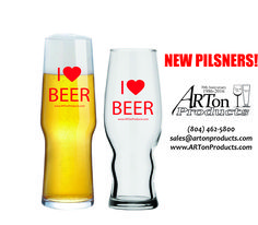 Just a few of our new glasses that are becoming extremely popular! Great for restaurants, brewpubs and even personal use!