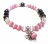 Loss of Daughter  Infant or Child Loss Awareness Stretch Bracelet with Donation