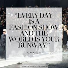 #quote #fashion #runway #couture #cocochanel #designer #fashiondesigner