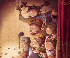 Homero y las Musas by ramon PLA, via Flickr