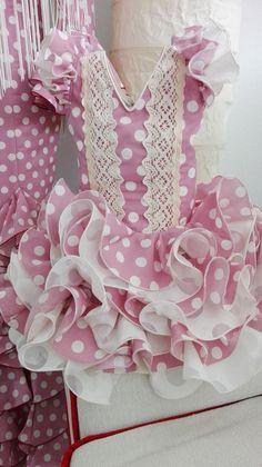 (15) vestidos de flamenca y ole¡¡¡¡ Cute Girl Outfits, Cute Outfits For Kids, Cute Girls, Dog Dresses, Girls Dresses, Flamenco Costume, Baby Frocks Designs, Frock Design, Doll Costume