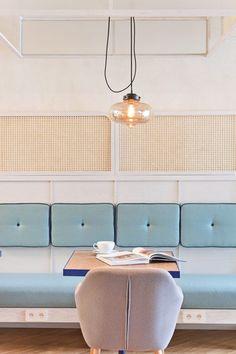 Restaurant Chairs For Sale Architecture Restaurant, Restaurant Interior Design, Bar Interior, Architecture Design, Cafe Design, Küchen Design, Design Ideas, Design Trends, Diy Interior Doors