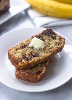 Gluten-Free Banana Chocolate Chip Bread