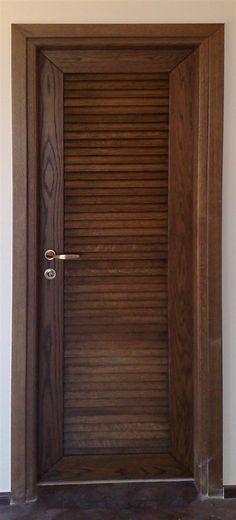 Πόρτα εσωτερική από μασίφ δρυ. Home Door Design, Main Door Design, Buddha Wall Art, Aluminium Doors, Grill Design, House Doors, Cupboard Doors, Interior Doors, Wooden Doors