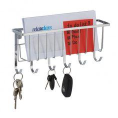 Vešiak na kľúče s poličkou na listy RD8008 Bathroom Hooks, Bronze