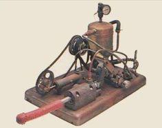 """""""O Manipulador"""", um dos primeiros vibradores e movido a vapor."""
