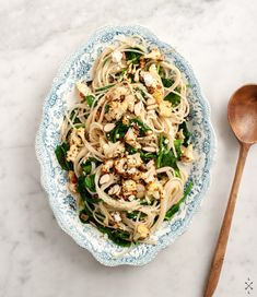 roasted cauliflower pasta | love and lemons