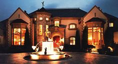 Luxury Homes Beautiful European French Chateau and Italian Villa Architect plans