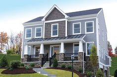 House exterior colors...want this HOUSE TODAY...may change the windows...hard for window coverings these types!!