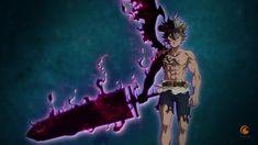 Asta, Sword, Demon Transformation, Black Clover, Anime