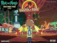 Rick and Morty: Anatomy Park - The Game | Image | BoardGameGeek