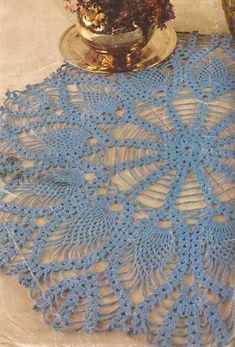 Patrón #534: Tapete Turquesa a Crochet #ctejidas http://blgs.co/0nO8Wi