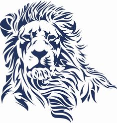 Lion Outline Related Keywords & Suggestions - Lion Outline Long ...