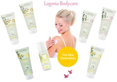 Logona Körperpflege -The New Generation  Vitality, Harmony & Energy
